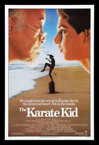 KARATE KID 1984 one-sheet